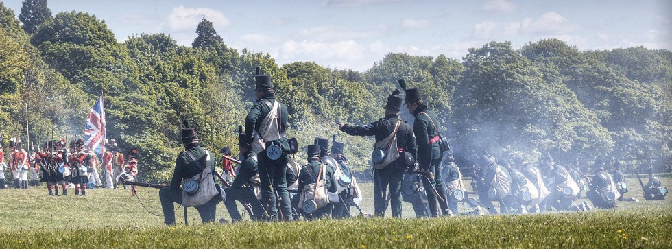 2nd Battalion 95th Rifles - Napoleonic Battle Re-enactment and