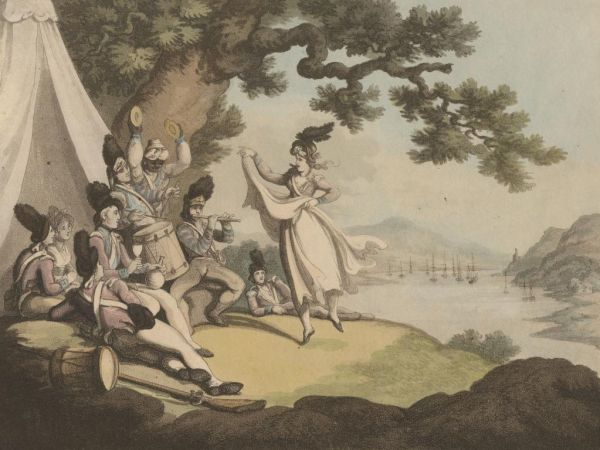 Soldiers_Recreating_Rowlandson_1798.JPG